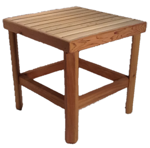 Pine Square Side Table
