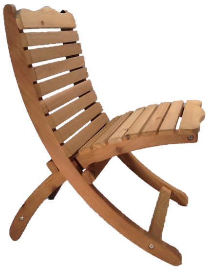 Pine Trapper Chair